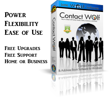 Contact Management software Product Box